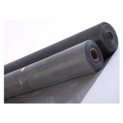 Tela mosquitera fibra vidrio rollo 0.80 x 30 metros gris