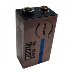 Pila de litio nx 9 v 1.2ah especial cerraduras int-lock bf y rf
