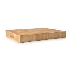 Tabla de cortar lacor rubber wood 33x25x4 cm