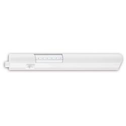 Regleta led matel blanca 5w luz calida 30cm