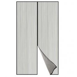 Mosquitera para puerta magnetica akhuo 120x230 gris