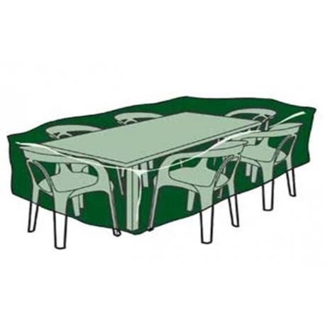 Funda mesas y sillas aqua center 325 x 205 x 90 cm