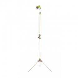 Ducha de jardin green expert con tripode telescopica
