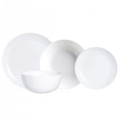 Vajilla luminarc diwali 19 piezas blanco