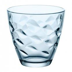 Vaso de vino vidrio flora 25 cl azul