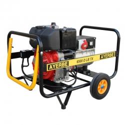 Generador ayerbe ay-6500 d lb tx lombardini