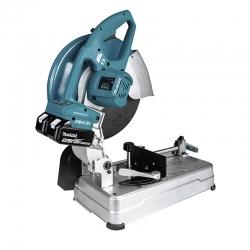 Tronzador de disco abrasivo makita dlw140pt2 18v 355 mm