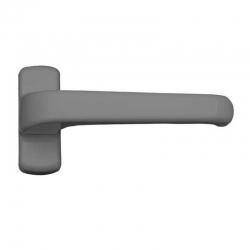 Manilla carpinteria 6800 micel aluminio plata