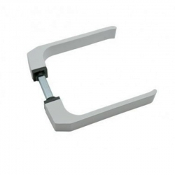 Manilla puerta aluminio 702 micel blanco