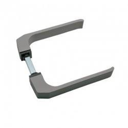Manilla puerta aluminio 702 brimic plata