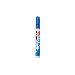 Marcador crc pintura permanente base agua azul