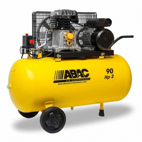 Compresor de aire abac b26b 90l 230v