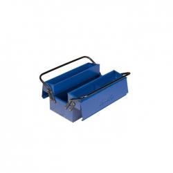Caja de herramientas metalica irimo 2 asas 3 bandejas