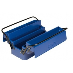 Caja de herramientas metalica irimo 2 asas 5 bandejas