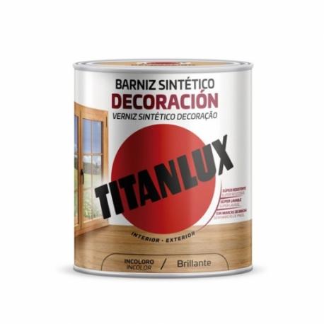 Barniz sintetico brillante titanlux 750 ml