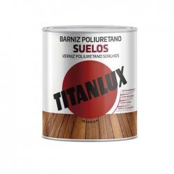 Barniz para suelos satinado titanlux 750 ml