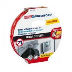 Cinta doble cara powerbond ultrastrong tesa 5mx19mm