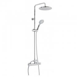Columna termostatica ducha genebre oslo cromado con kit