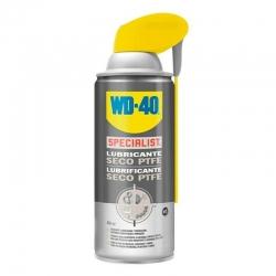 Specialist lubricante seco ptfe wd-40 doble accion spray 400 ml