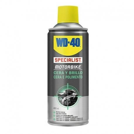 Specialist motorbike cera y brillo wd-40 spray doble accion 400 ml