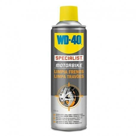 Specialist motorbike limpia frenos wd-40 spray 500 ml