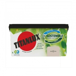 Pintura plastica titanlux biosostenible 4l piedra natural