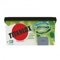 Pintura plastica titanlux biosostenible 4l gris cuarzo