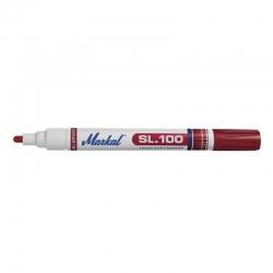Rotulador permanente markal sl100 rojo