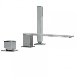 Monomando lavabo cuadro-Tres bañera 00616104