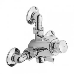 Grifo mezclador para ducha tres