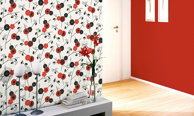 Papel pintado el arte de decorar inspiraci n y ejemplos for Papeles vinilicos para empapelar