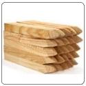 Postes, traviesas madera