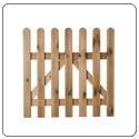 Vallas, puertas madera