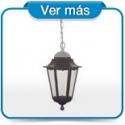 Lámpara colgante exterior