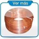 Rollo de tubo de cobre