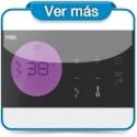 Conjuntos termostaticos electronicos empotrados Tres