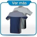 Camisetas de trabajo elásticas