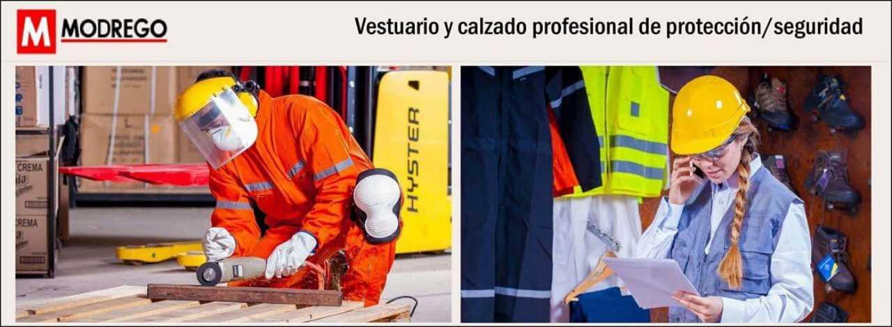 calzado y vestuario laboral