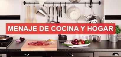Menaje de cocina y hogar